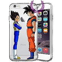 Dragon Ball Z Super GT Protectores de iPhone Case Cover - Único Diseños más recientes - Todos los modelos de iPhone - A estrenar - La más alta calidad - Muchos diseños - Tournament Of Power - Goku Black Rose - Goku Blue - Gohan - Jiren - Vegeta Blue - DBS - DBZ - DBGT - MIM UK (iPhone 6/6s, Friends)