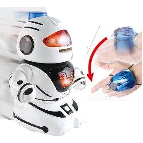 Controlado a mano, RC, Robot de juguete para niños, Dispara Frisbees por Inside Out Toys ®