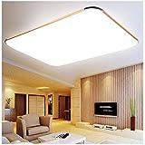 MCTECH® 48W LED Iluminación de techo Ultraslim Modern techo Leuchten Color Blanco Frío Lámpara de techo Golden Lámpara de techo Salón Cocina panel lámpara 6000K--6500K