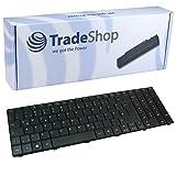 Laptop-Tastatur / Notebook Keyboard Ersatz Austausch Deutsch QWERTZ für Acer Aspire E1-531G E1-571 5810 5810T 5536 5536G 5738 5738G 5538 5538G 5542 5542G 8942 8942G (Deutsches Tastaturlayout)