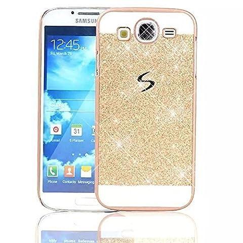 Sunroyal Samsung Galaxy S3 i9300 / S3 Neo i9301 Handy Hülle Schutz Bling Hart Case Harte Glitzer Diamant Luxus Gel Crystal Kristall Zurück Hard Back Cover Rückseite,