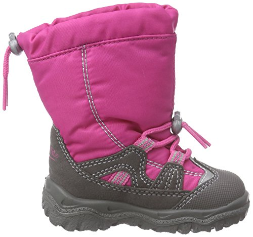 Superfit Husky1, Bottines avec doublure intérieure chaude fille Rose - Pink (PINK KOMBI 64)