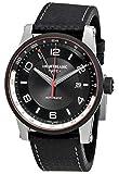 Montblanc TimeWalker UTC Herren-Armbanduhr 42mm Armband Leder Automatik 115080