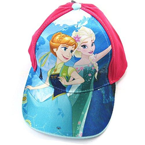 0a0054a6a27 Reine des neiges  N4937 - Casquette Enfant  Frozen Bleu Fuschia