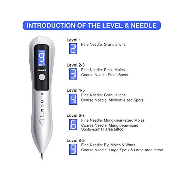 Manchas Cara Eliminación, Spot eraser pro, Mole removal pen pluma de pecas para Manchas, Pecas, Tatuajes, Verrugas y…