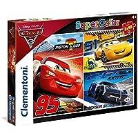Clementoni 25221 - Puzzle Cars 3, 3 x 48 Pezzi