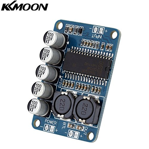 KKmoon TDA7498 Class D 2 * 100W Dual Channel Audio Stereo Digital Power Amplifier Board DC 15-34V