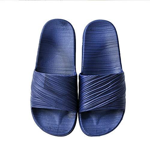 Zapatillas de casa para Hombres y Mujeres Zapatillas de algodón con Espuma viscoelástica Zapatillas de Lino Antideslizantes Zapatillas Abiertas con Punta de Dedo en Forma de Mulas Suave y Lavable