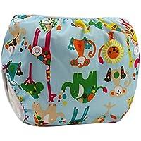 Happy Cherry Ajustable Bañador Pañal de Tela Reutilizable Lavable Diaper Para Bebé Unisex Varios ...