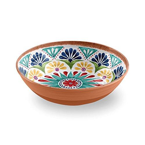 Epicurean Rio Medaillon 30cm Melamin Salat Servieren Schüssel (Große Schüssel Melamin)