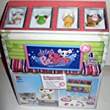 Littlest Pet Shop - XL Game Collection - Spiel-Haus incl. 4 Tiere: Knarienvogel & Katze & Frosch & Hund - 3 Spiele: Pet Show Game & Mühle/Dame-Spiel & Tic Tac Toe - 100 Teile Puzzle - 2 stöckiges Spielhaus - OVP