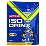 Nutrend ISODRINX isotonic Sport drink ensure your body a good dose of energy for physical activity 840g Bitter Lemon optimal amounts of minerals and vitamins for a Best Performance.