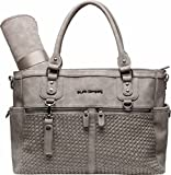 Little Company Monaco Braided Wickeltasche Taupe