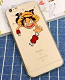 Coquefone Coque iPhone 7 et iPhone 8 Luffy One Piece Os Grimace Manga