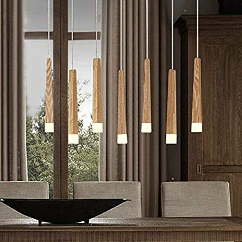 LINA-Lampadario legno massello creativo country