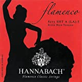 Hannabach Cordes de guitare classique Série 827 Super High Tension Flamenco Classic D4w corde unique