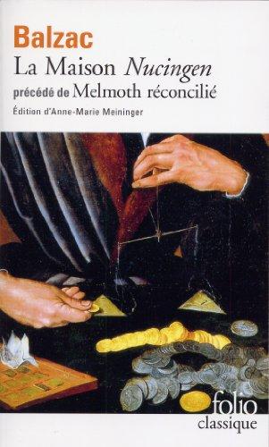 La Maison Nucingen - Melmoth réconcilié par Honoré de Balzac