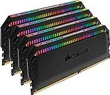 Corsair CMT32GX4M4C3200C16 Dominator Platinum Kit di Memoria per Desktop a Elevate Prestazioni, DDR4 32 GB, 4 x 8 GB, 3200 MHz, RGB