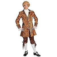 12c991708aba Funny Fashion Costume per adulti Cortigiano Bartoli Giacca per pantaloni  Carnival Nobleman Baron Count Baroque (48 50)