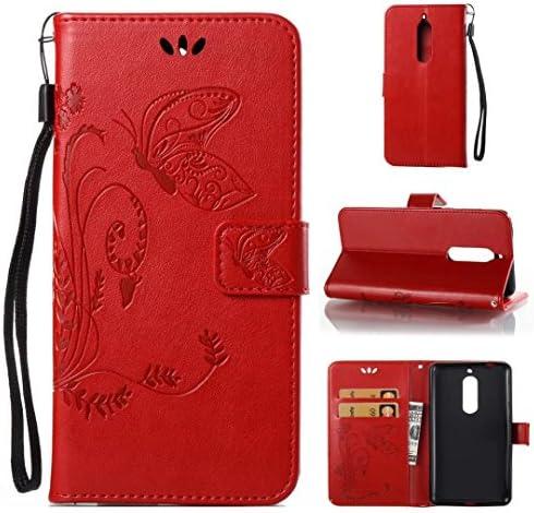 Étui à rabat Cowx - En En En cuir synthétique polyuréthane - Avec silicone souple - Style livre - Pour Nokia 5 B075HDHNS2   Excellente Qualité  143ad8
