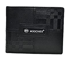 Moochies Gents Leather Wallet, Size-1x5x4, Color-Black