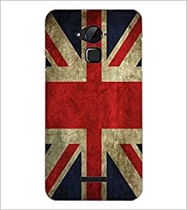 PrintDhaba UK Flag D-2046 Back Case Cover for COOLPAD NOTE 3 LITE (Multi-Coloured)
