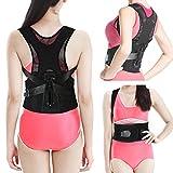 Geradehalter zur Haltungskorrektur, EZbuy Schulter Rücken Haltungsbandage Einstellbare Größe für Männer und Frauen, M Taille: 65-80cm (25.6-31.5in)