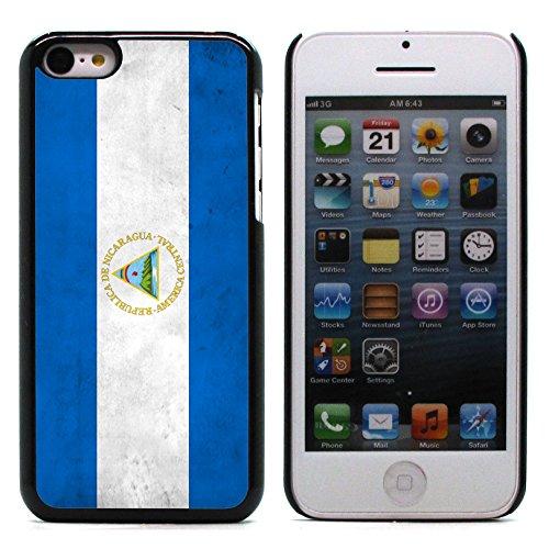 Graphic4You Vintage Uralt Flagge Von Guatemala Guatemalteke Design Harte Hülle Case Tasche Schutzhülle für Apple iPhone 5C Nicaraguaner