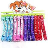 Mouchao Mode Einstellbare Druck Kleine Hundehalsbänder Katzenhalsband Haustiere Liefert Zufällig Ohne Glocke