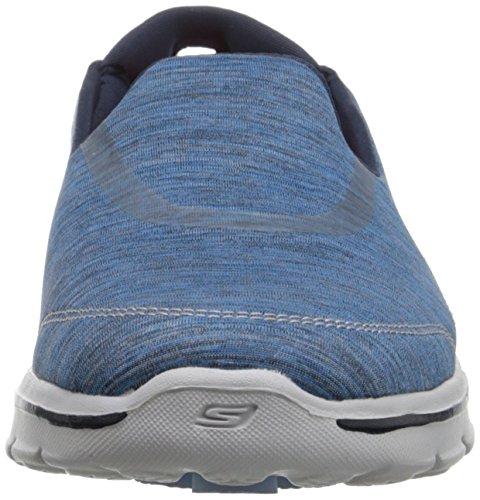 Skechers Gowalk 3 Force, Sneakers basses femme Bleu