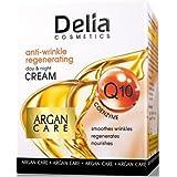 Crema facial antiarrugas Coenzima Q10 , aceite de Argán 50ml y Vitamina E