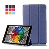 Funda LG Pad X 8.0 Cuero,PU Cuero Smart Cover Book Case Funda para el LG G Pad 3 8.0 V525/LG G Pad X...