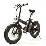 Smartway Monster Bike Bicicletta Elettrica Pieghevole Autonomia 50 Km
