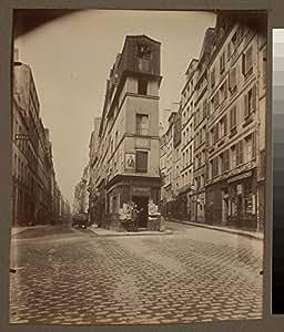 POSTER A3 Maison d'Andre Chenier en 1793 - 97 rue de Clery (2e arr)
