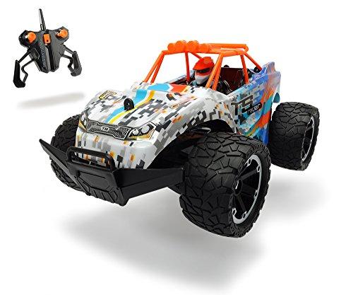 Dickie Toys 201119231 - RC TS-Racer, Funkferngesteuerter Offroad-Buggy mit aufladbaren Li-Ion Akku, 2,4GHz, 10km/h, 29cm