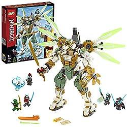 LEGO NINJAGO - Le robot Titan de Lloyd, Jeu pour Enfant 9 Ans et Plus, Briques de Construction Garçon et Fille 876 Pièces - 70676