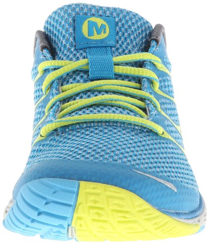Merrell ROAD GLOVE DASH 3, Scarpe sportive outdoor donna Blu (Blau (HORIZON BLUE/HIGH VIZ))