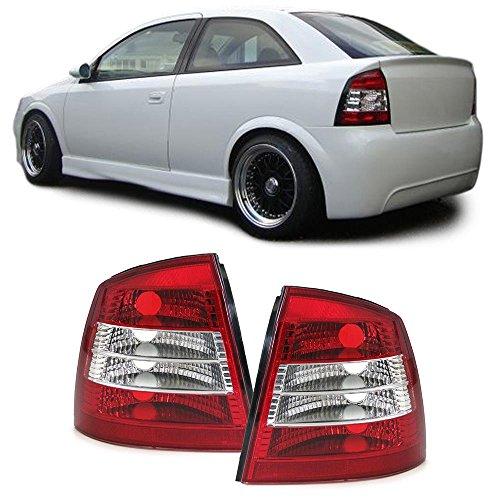 KLARGLAS RÜCKLEUCHTEN ROT KLAR (Opel Astra G Rückleuchten)