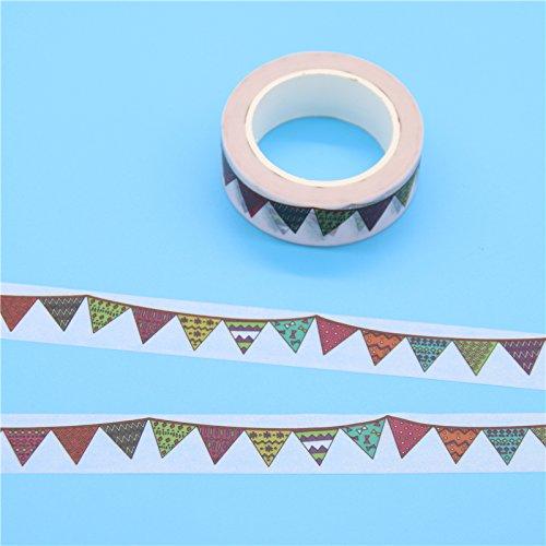 apier Abdeckbänder japanisches Washi Tape Diy Scrapbooking Sticker Schreibwaren Schulbedarf, S (Schulbedarf Billig)
