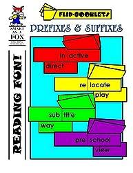 Prefixes and Suffixes Flip Booklets