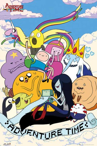 empireposter - Adventure Time - Clouds - Größe (cm), ca. 61x91,5 - Poster, NEU -