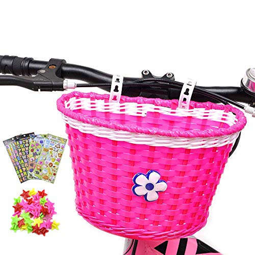 Cesta de bicicleta para niña