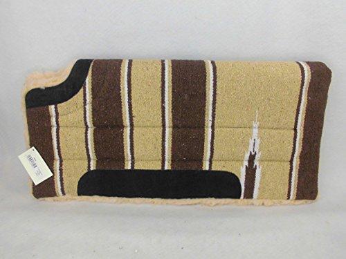 Westernpad Showpad Westernshowpad Navajo Pad Sattelunterlage für Westernsattel, Farbe:Beige