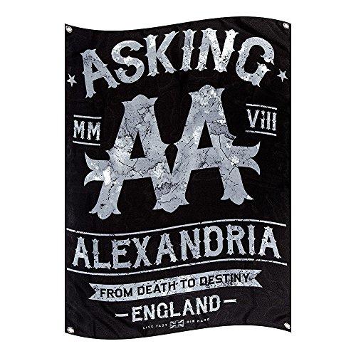 Bandiera Ufficiale Black Label Asking Alexandria (Multicolore)