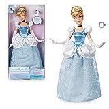 Muñeca oficial Cinderella Classic Disney de 30cm con anillo