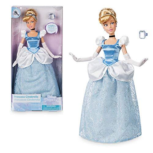 Offizielle Disney 30cm Cinderella Classic Puppe mit Ring (Cinderella-ring)