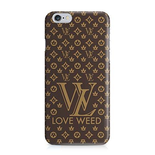 Cover love WEED CANNABIS Handy Hülle Case 3D-Druck Top-Qualität kratzfest Apple iPhone 6 / 6S