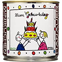 """Hanauer Minikuchen SchokoNuss""""Zum Geburtstag"""", 1er Pack (1 x 170 g)"""
