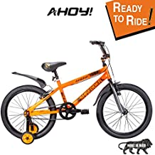 AHOY! Fitted & Ready to Ride Cycle 20 inch Shredder for Kids (7 to 10 Years) - Orange