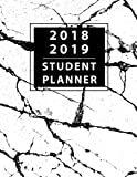 Student Planner 2018-2019: Daily Monthly & Weekly Planner August 2018 - July 2019, Organizer Calendar and Agendas for College, University and High School 8.5